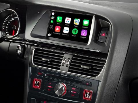 Audi-A5-Navigation-System-X703D-A5-with-Apple-CarPlay