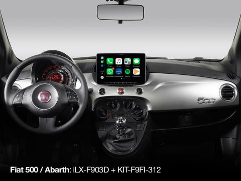 iLX-F903D-KIT-F9FI-312B_Designed-for-Fiat-500_with-Apple-CarPlay-compatibility