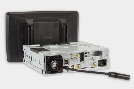 "INE-F904D - 1DIN Chassis – 9"" Screen"