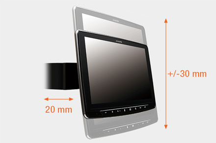 INE-F904D - Adjustable Display Height and Distance