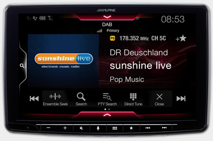 iLX-F903D - Built-in DAB+ Digital Radio