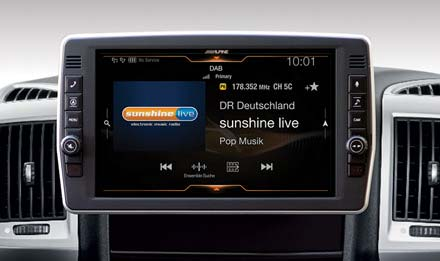 Ducato, Jumper and Boxer - DAB Digital Radio - X903D-DU2