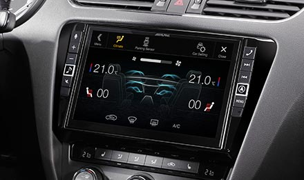Skoda Octavia 3 - Air Condition Display - i902D-OC3