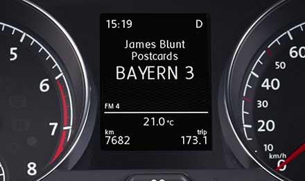Golf 7 Driver Information Display i902D-G7