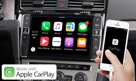 Golf 7 - Works with Apple CarPlay - i902D-G7