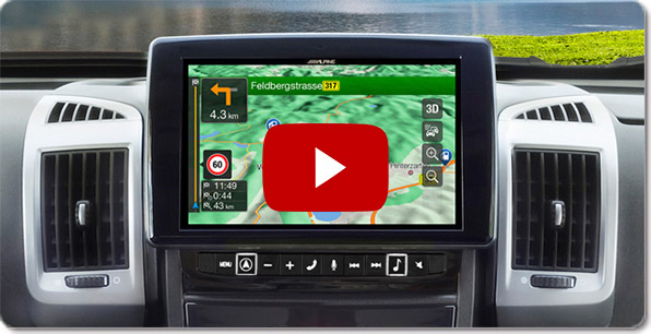 Alpine Style Navigation for Volkswagen ( VW Golf 7 ) | Videos